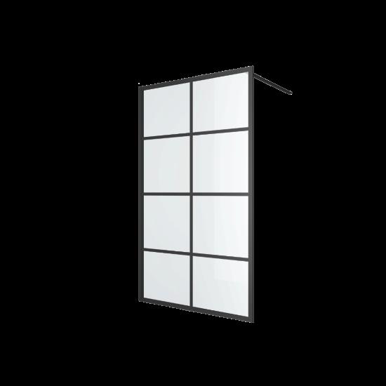 Excellent ścianka prysznicowa walk-in 120x200 czarna Fabrika KAEX.4006.1200.LP