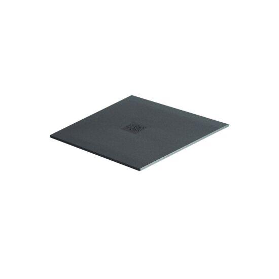 Excellent brodzik kwadratowy 90x90 Arda beton RAL 7040 BREX.1502.090.090.CON