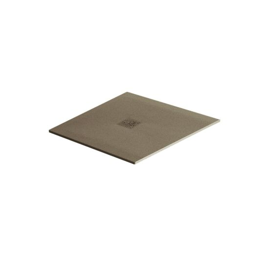 Excellent brodzik kwadratowy 90x90 Arda cappucino RAL 1019 BREX.1502.090.090.CAN