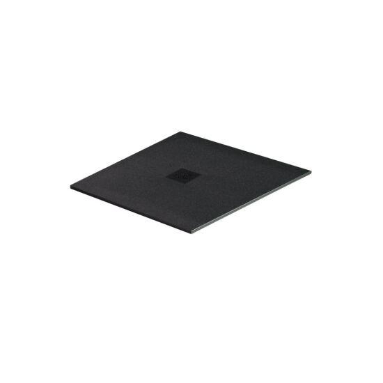 Excellent brodzik kwadratowy 90x90 Arda czarny RAL 9005 BREX.1502.090.090.BLN