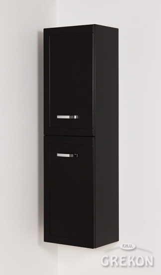 Grekon słupek Meiva 40x143 czarny MVA-C-RW