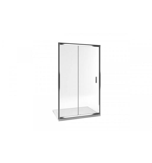 Excellent drzwi do wnęki suwane 120x190 srebrny połysk Seria 201 KAAC.1805.1200.LP/N