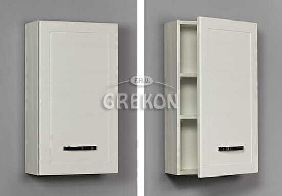 Grekon szafka wisząca Meiva 40x72 biała MVA-B-W40/72